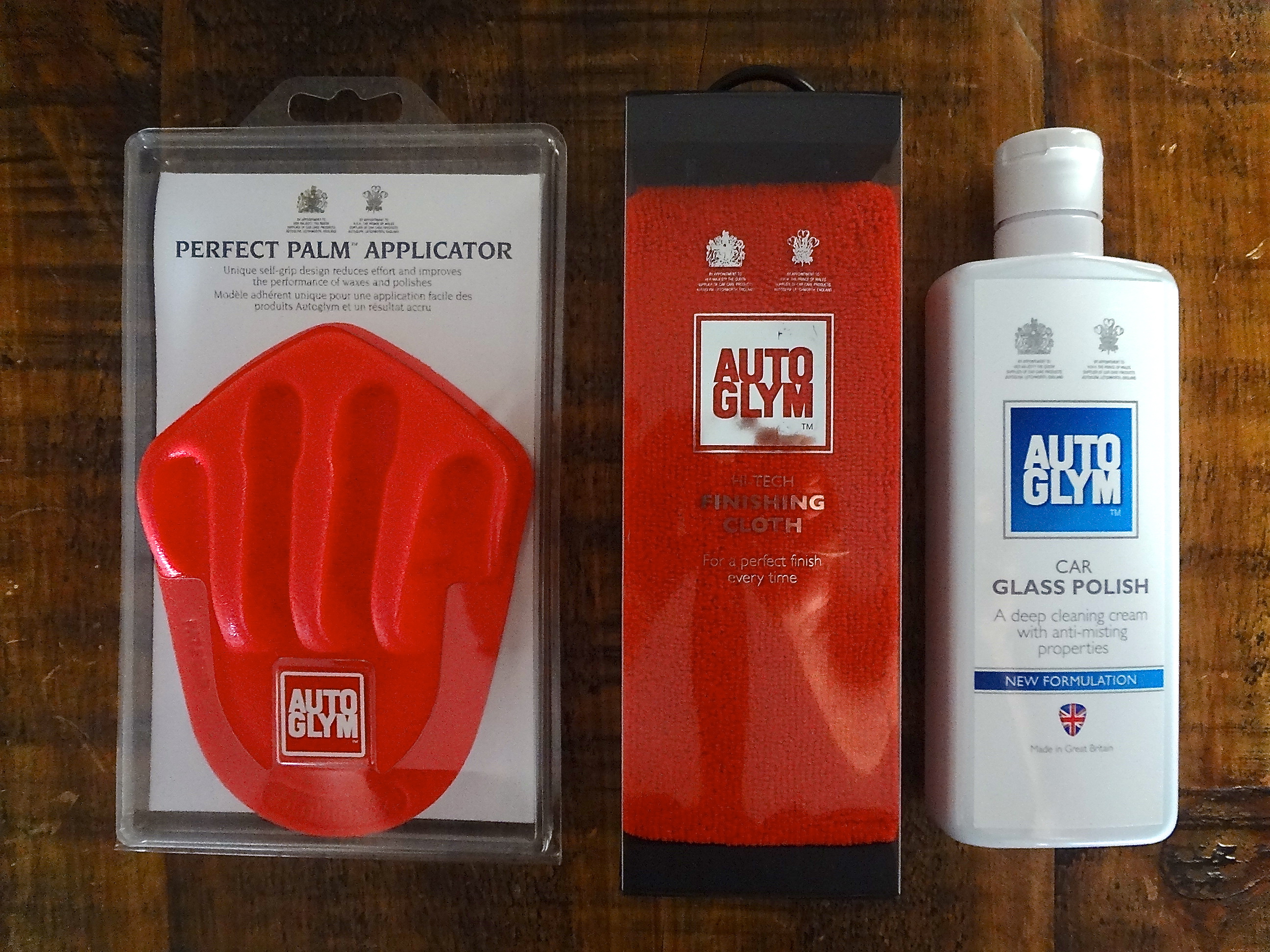 Autoglym Car Glass Polish New Formulation Cleanyourcar Co Uk